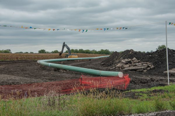 Dakota Access Pipeline being built in central Iowa. Carl Wycoff CC BY 2.0