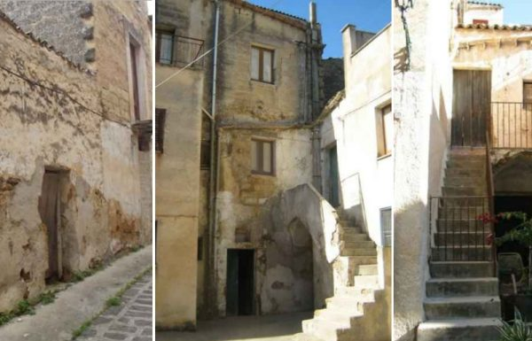 Some of the houses for sale in Sambuca, Sicily, for just €1. All photos provided by the Municipality of Sambuca di Sicilia.