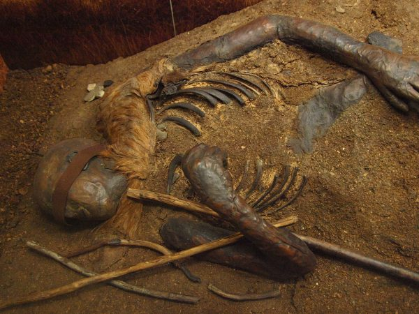 Windeby I is the name given to the bog body found preserved in a peat bog near Windeby, Northern Germany, Bullenwächter CC BY 3.0