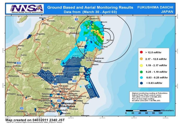 As a result, there are more than 1 million tons of contaminated water being stored in Fukushima.
